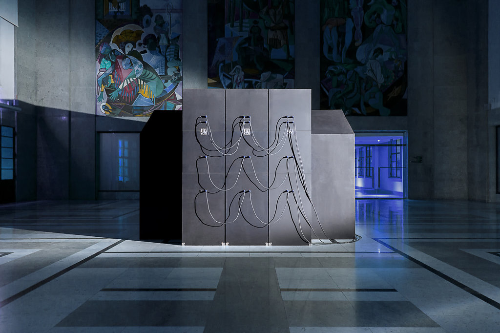 The Club IV   The CLUB is an installation created by BUREAU A for the Lisbon Architecture Triennale